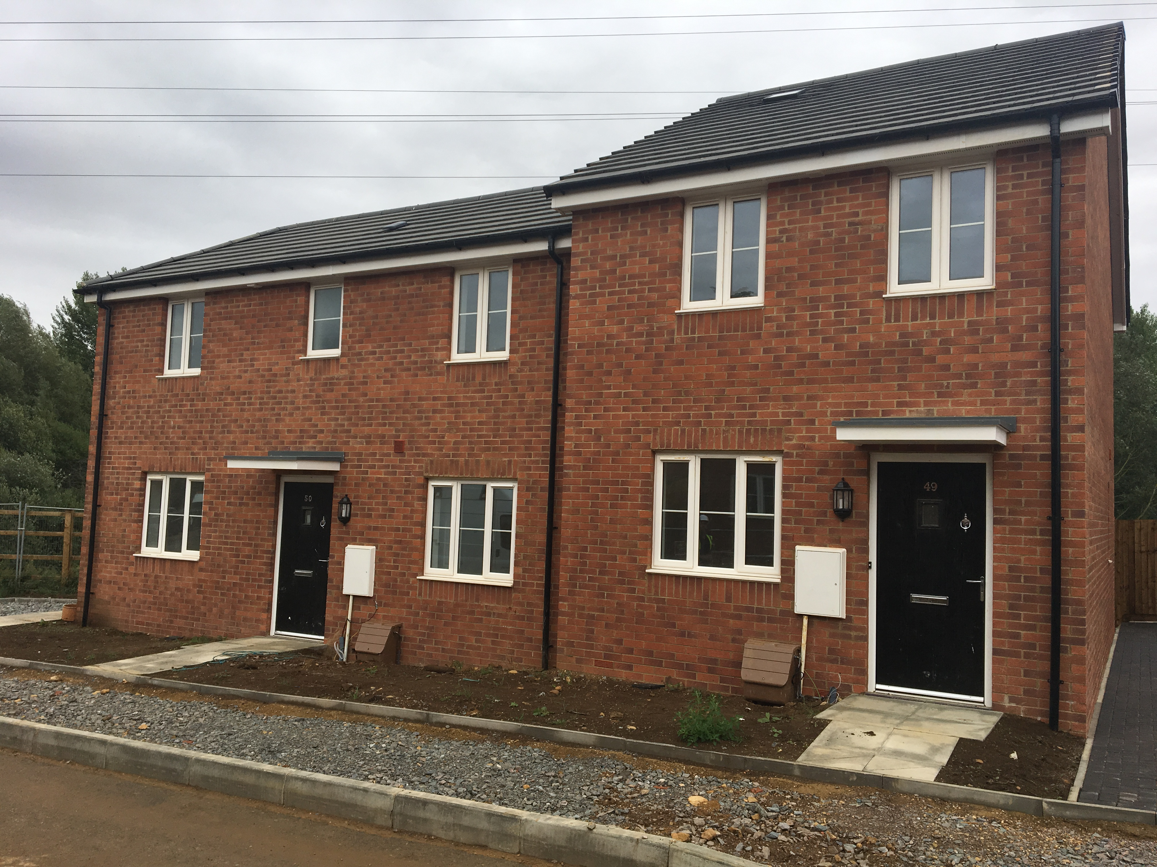 NEW CORBY COUNCIL HOMES